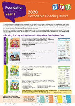 Targeted Group Reading Books Set 4 - Year 1 Semester 2