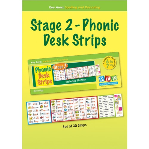 Stage 2 - Phonic Desk Strips
