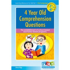 4 Year Old Comprehension Questions