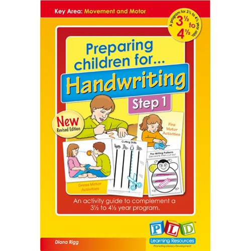 Preparing children for Handwriting Step 1