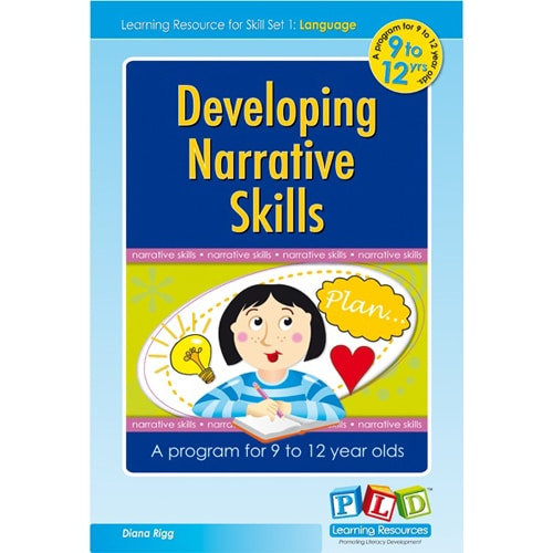 Developing Narrative Skills for 9 to 12 Year olds