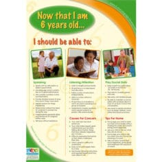 Speech and Language Developmental Milestones - Now that I am 6 years old...