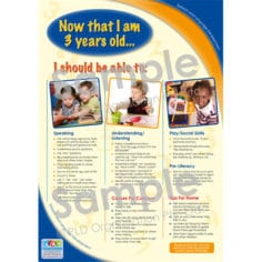 Speech and Language Developmental Milestones - Now that I am 3 years old...