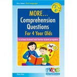 More Comprehension Questions for 4 year olds