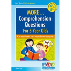 More Comprehension Questions for 5 year olds