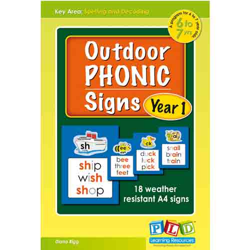 Outdoor Phonic Signs Set 1