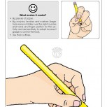 Correct Pencil Grip Fact Sheet Left