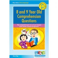 8 and 9 Year Old Comprehension Questions