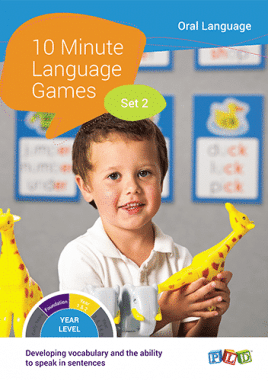 10 Minute Language Games - Set 1