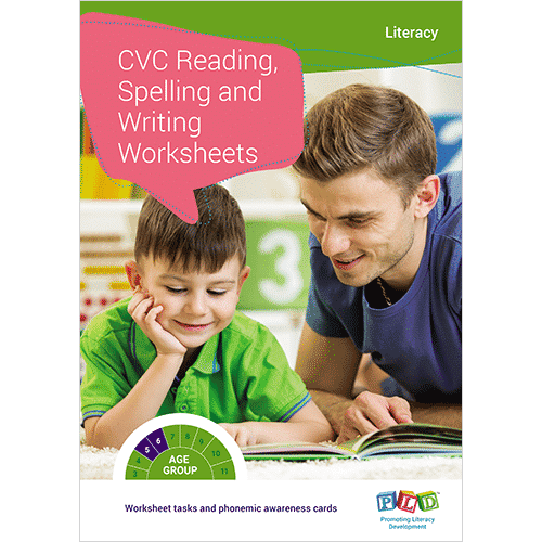 Cvc Reading Spelling And Writing Worksheets Pld Promoting