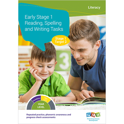 Early Stage 1 Reading, Spelling & Writing Tasks Stage 1 - Target 2