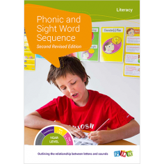 Phonic Sight Word Sequence Chart - Stage 1 Target 4