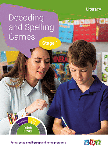 Decoding and Spelling Games - Stage 1