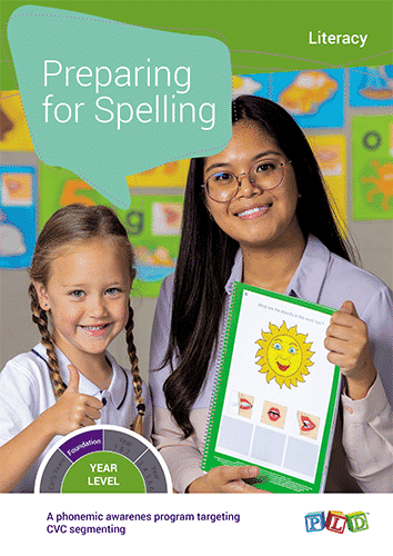 Preparing for Spelling