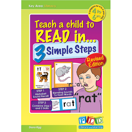 Teach a child to read in 3 simple steps