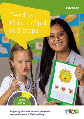 Teach a Child to Read in 3 steps