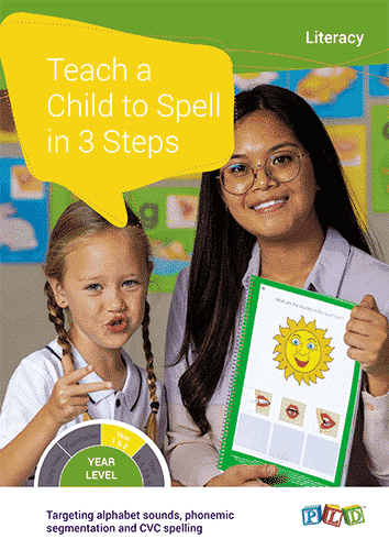 Teach a Child to Spell in 3 Steps