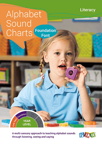 Alphabet Sound Charts - Foundation Font