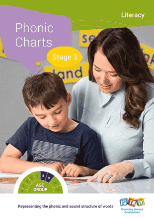 Phonic Charts - Stage 1-4 - Full Set