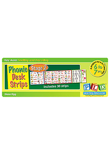 Phonic Desk Strips - Stage 2