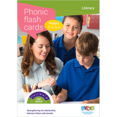 Phonic Flash Cards Stage 1,2,3 & 4