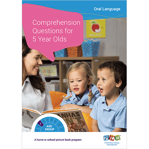 Comprehension Questions for 5 Year Old