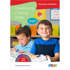 Developing Cutting Skills Milestones - Ages 3 - 6