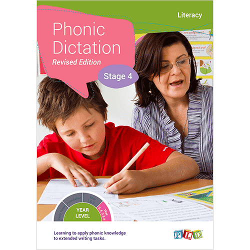 Phonic Dictation - Stage 4