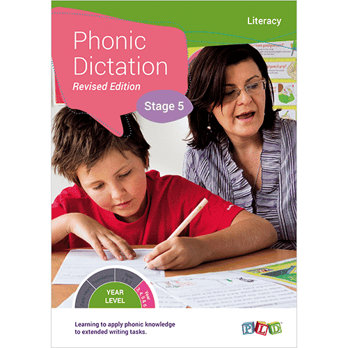 Phonic Dictation - Stage 5