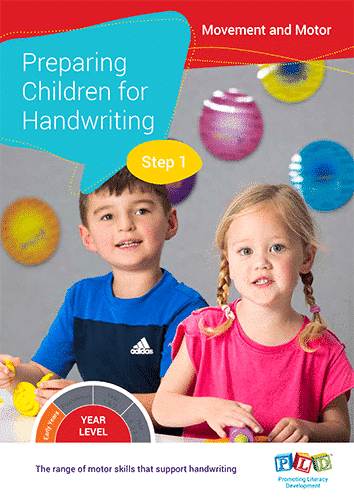 Preparing Children for Handwriting - Step 1