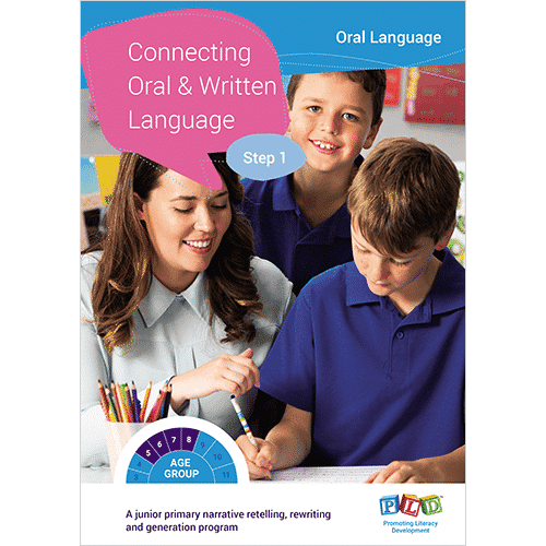 Connecting Oral & Written Language - Step 1