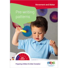 Preparing children for handwriting - Step 2