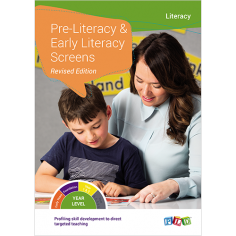 Foundation Pre-Literacy Screen