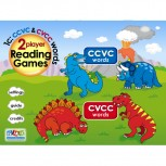PLD 2 Player Reading Games 1c: CCVC and CVCC words