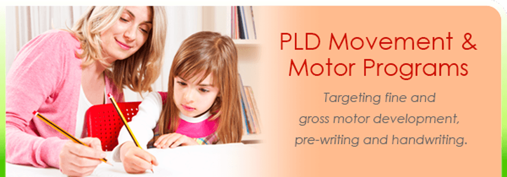Movement and Motor programs targeting handwriting, pre-writing and fine and gross motor skills