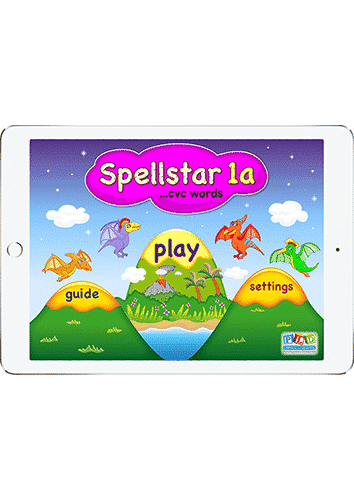 Spell star 1a - cvc words