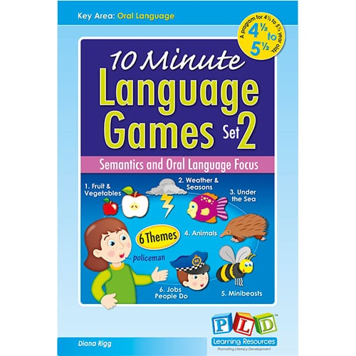 10 Minute Language Games - Set 2
