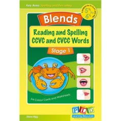 Blends, Reading and Spelling CCVC and CVCC Words