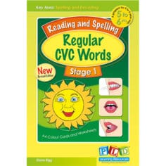 Reading and Spelling Regular CVC Words - Stage 1
