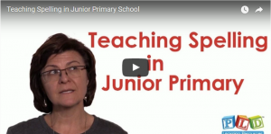 Teaching Spelling in Junior Primary