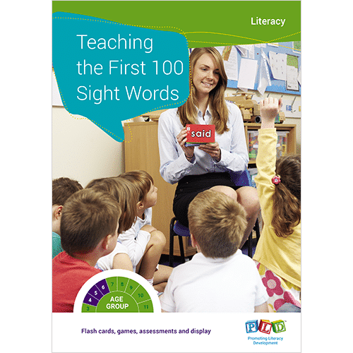 Teaching the first 100 sight words