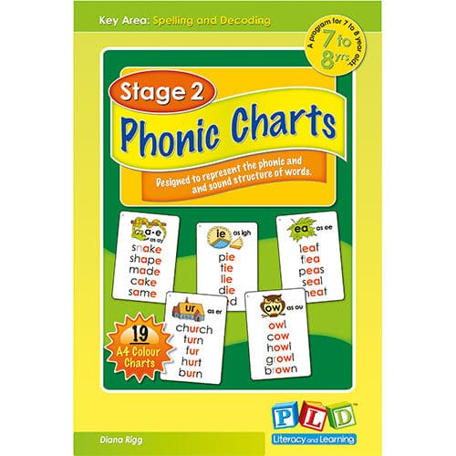 Stage 2 Phonic Charts