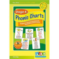 Stage 4 Phonic Charts