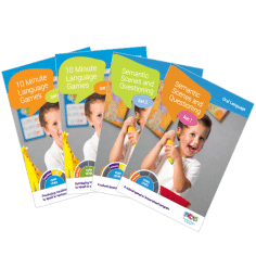 Recommended speech & language development posters and sheets for ages 0-2, 3 & 4 year olds