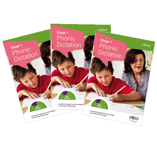 Multi-pack: stage 1 phonic dictation