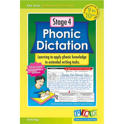 Stage 4 Phonic Dictation