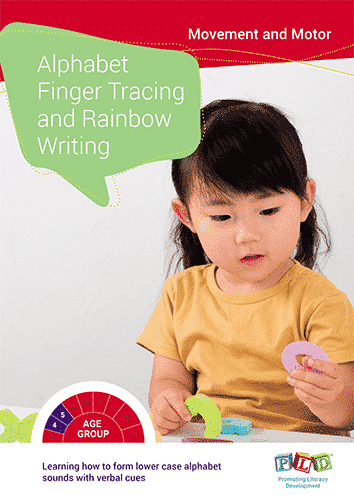 Alphabet Finger Tracing and Rainbow Writing