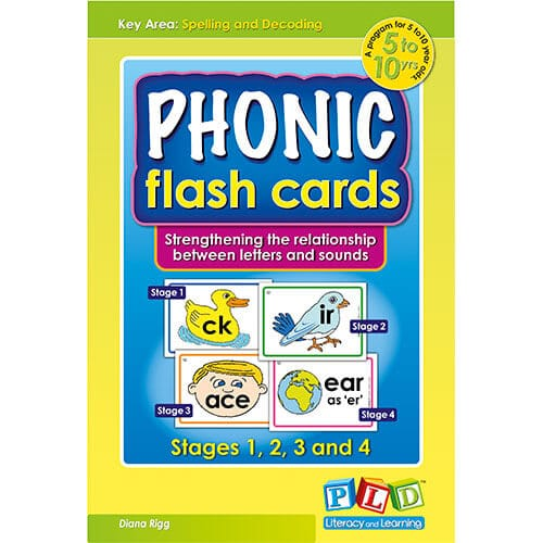 Phonic Flash Cards