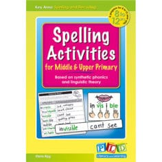Spelling Activities for Middle and Upper Primary