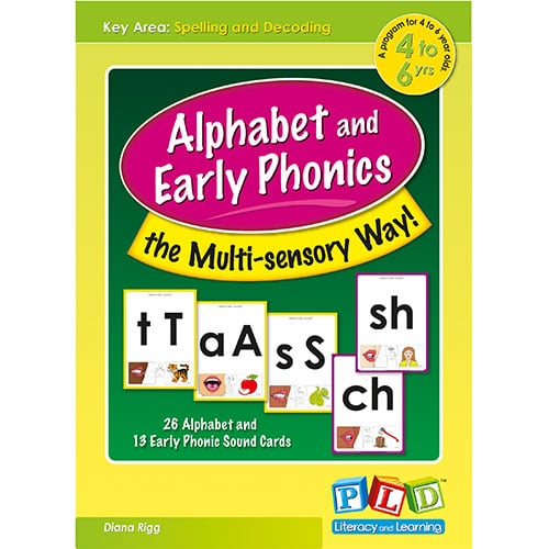 Alphabet and Early Phonics the Multi-sensory Way!